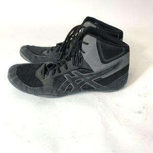 Asics Snapdown Wrestling Shoes Mens 11.5 J703Y Bla